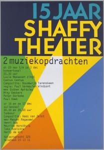 Affiche JubileumShaffyTheater