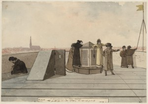 Observatorium_ca_1807_Prent_Christiaan_Andriessen_collectie_Stadsarchief